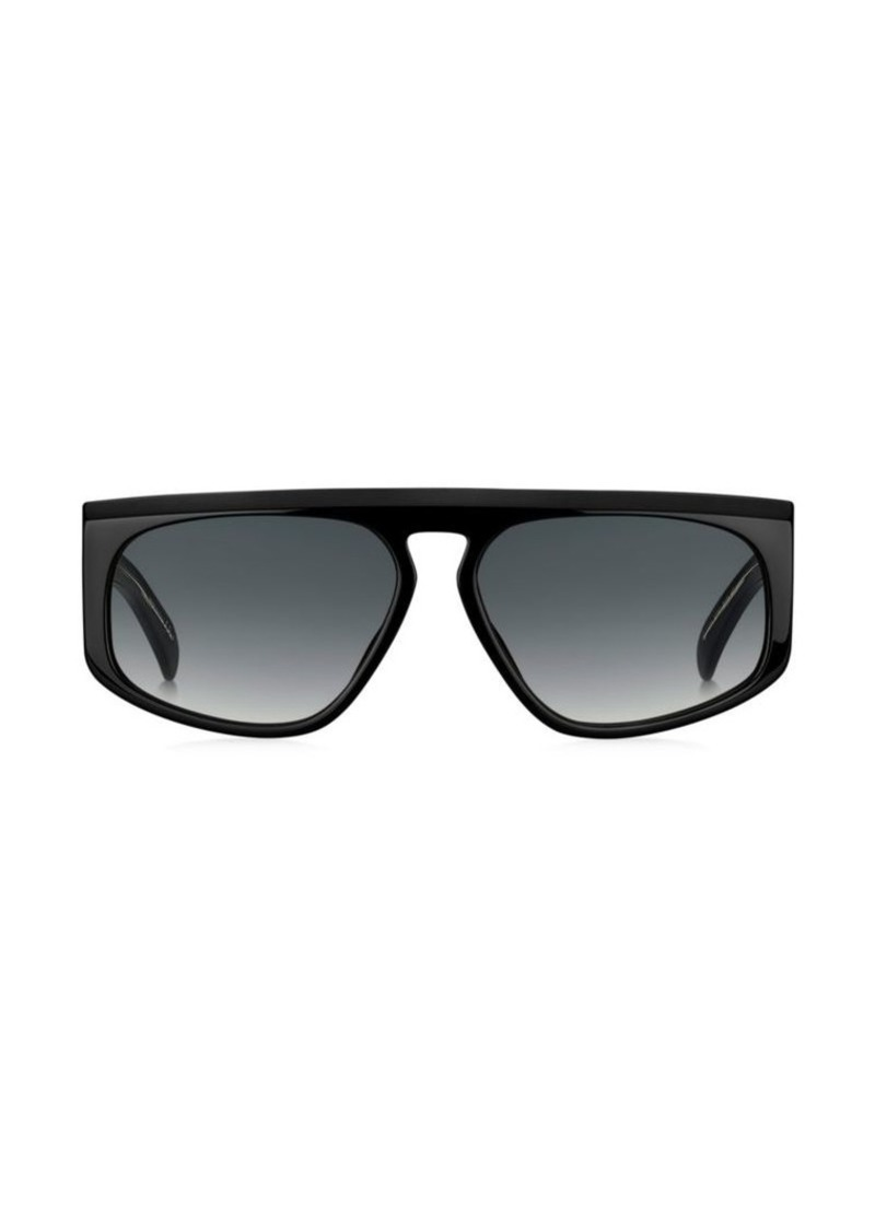 2a477ec53690d Givenchy GV 7125 Modified Rectangle Sunglasses