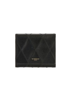 Givenchy GV3 Quilted Leather Tri-Fold Wallet