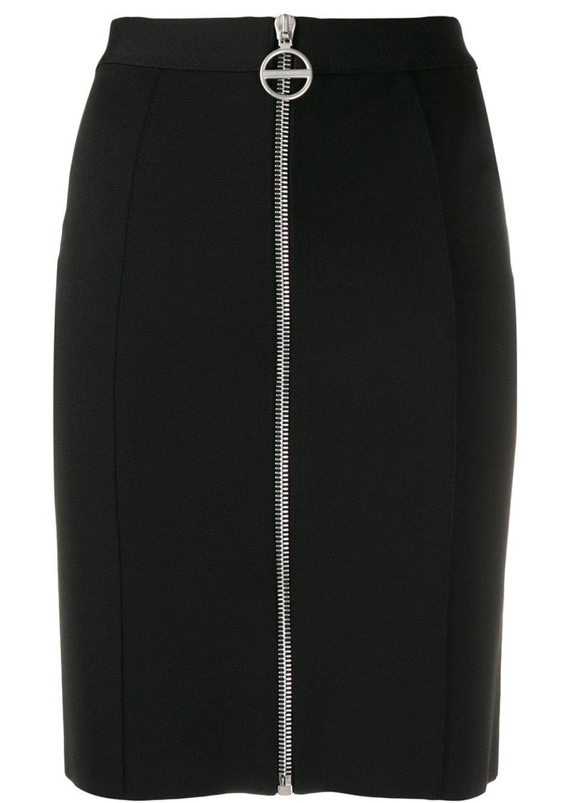 Givenchy high rise crepe mini skirt