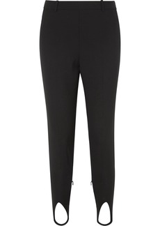 Givenchy High-rise Wool Tapered Stirrup Pants