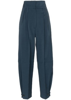 Givenchy high-waisted belted tailored trousers