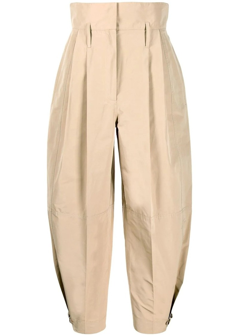 Givenchy high-waisted cropped trousers