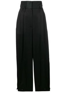 Givenchy high-waisted satin trousers