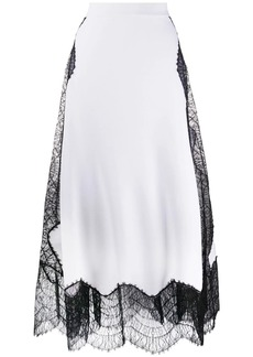 Givenchy high waisted skirt with lace
