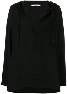 Givenchy hooded blouse