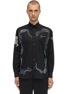 Givenchy Icarus Printed Cotton Shirt