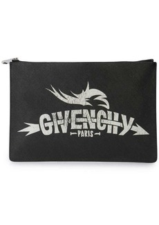 Givenchy Icon printed clutch bag