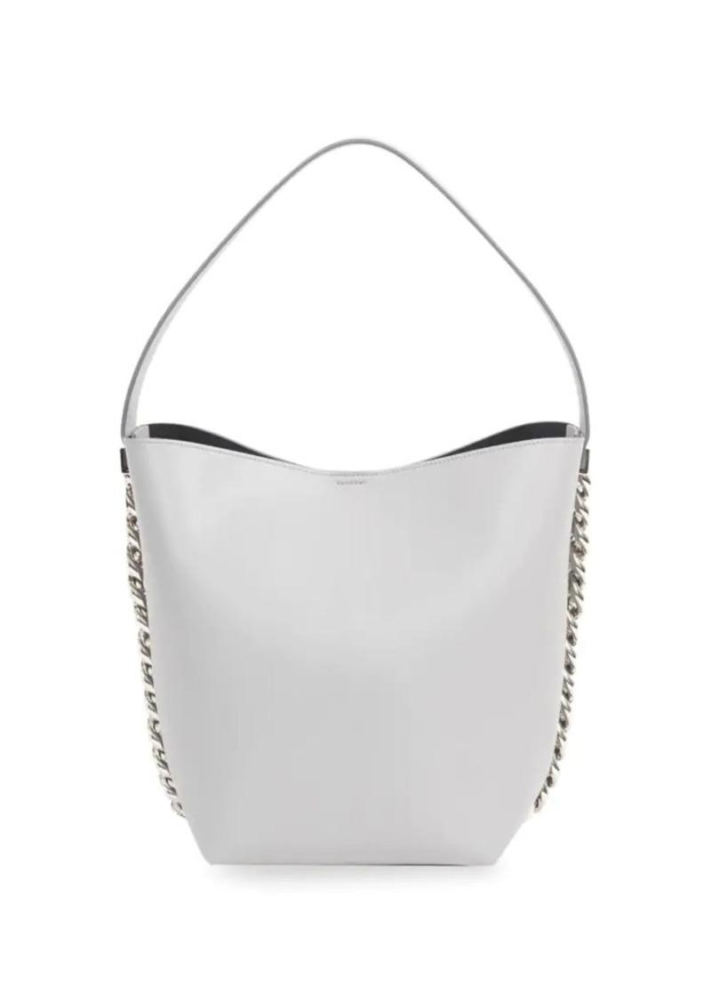 On Sale today! Givenchy Infinity Leather Bucket Bag e7f60e67a84b1