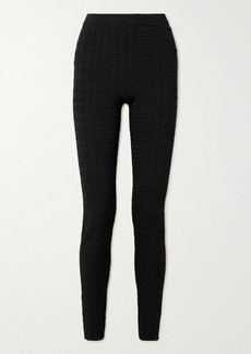 Givenchy Jacquard-knit Leggings