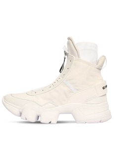 Givenchy Jaw Nylon Sock High Top Sneakers