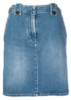 Givenchy knee-length denim skirt