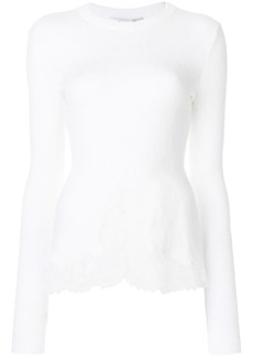 Givenchy lace detail top