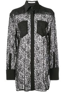 Givenchy lace shirt