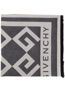 Givenchy large logo scarf