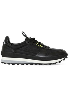 Givenchy Leather & Nylon Running Sneakers