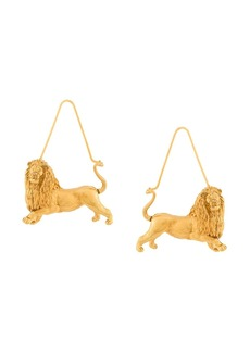 Givenchy Leo zodiac earrings