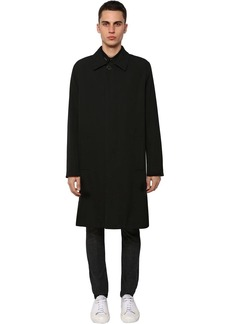 Givenchy Lined Wool Car Coat