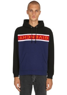 Givenchy Logo Band Cotton Sweatshirt Hoodie