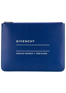 Givenchy logo clutch