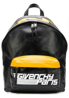 Givenchy logo colour-block backpack
