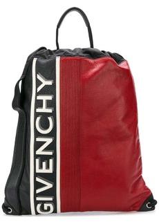 Givenchy logo colour-block backpack