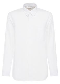 Givenchy Logo Cotton Poplin Shirt