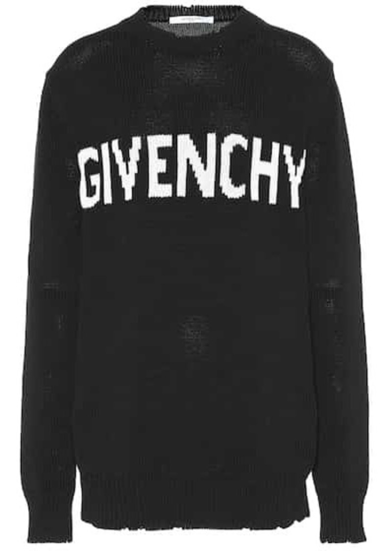 Givenchy Logo cotton sweater