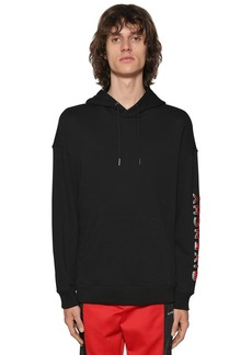 Givenchy Logo Cotton Sweatshirt Hoodie