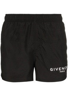 Givenchy logo drawstring swim shorts