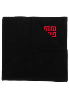 Givenchy logo embossed scarf