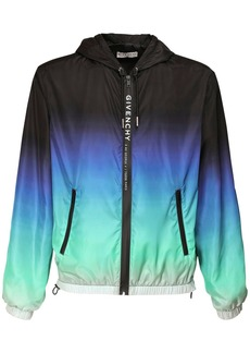 Givenchy Logo Gradient Nylon Windbreaker