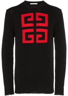 Givenchy Logo intarsia sweater