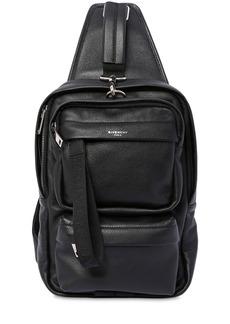 Givenchy Logo Leather Crossbody Bag