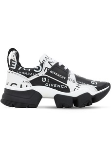 Givenchy Logo Leather Jaw Sneakers