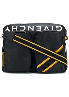 Givenchy logo messenger bag
