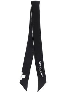 Givenchy logo neck scarf