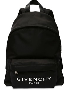 Givenchy Logo Nylon Backpack