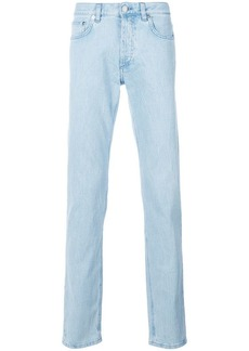 Givenchy logo panel straight leg jeans