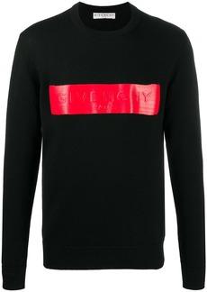 Givenchy logo-patch jumper
