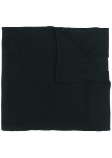 Givenchy logo patch scarf