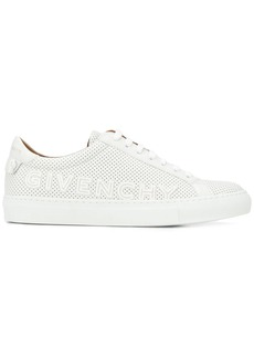 Givenchy logo perforated sneakers