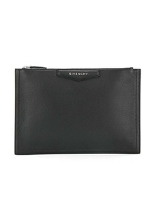 Givenchy logo plaque clutch bag