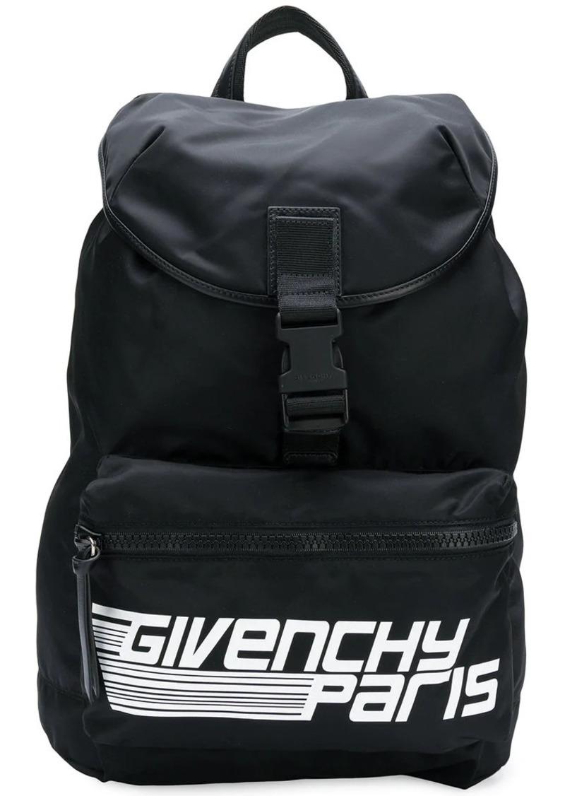 46ab9e7d5842 Givenchy logo-print backpack