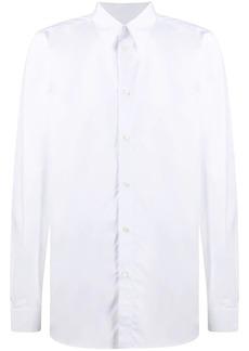 Givenchy logo print button-up shirt
