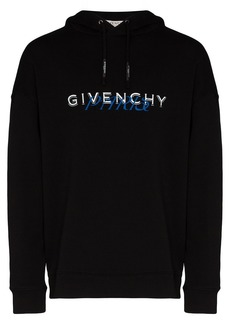 Givenchy logo-print cotton hoodie