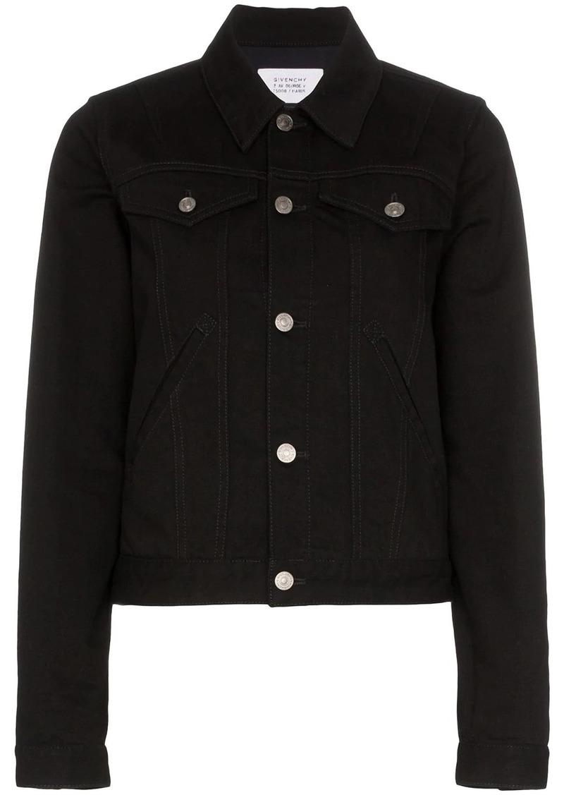 Givenchy logo print denim jacket