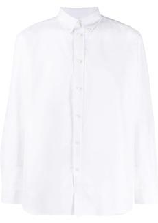 Givenchy logo print Oxford shirt