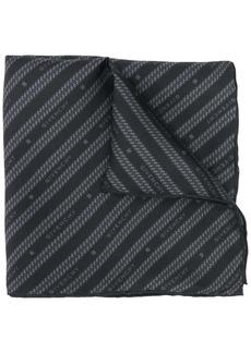 Givenchy logo-print pocket square