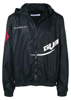 Givenchy logo print shell jacket