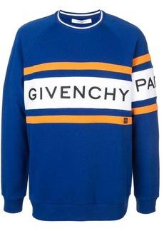 6625726fdb14 Givenchy Givenchy Terry-panel logo zip-through jacket